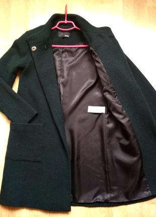 Красивое пальто (60% шерсть) etam, р.36