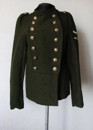 Куртка милитари шерсть в составе италия