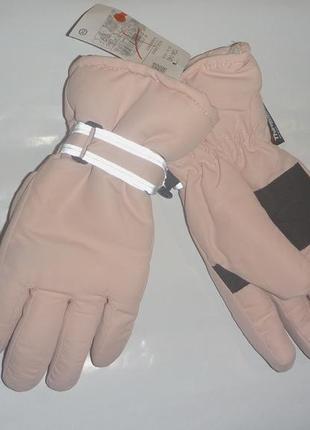 Термо перчатки 9-11лет c&a германия