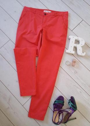 Мега стильные брюки хлопок с эластаном.