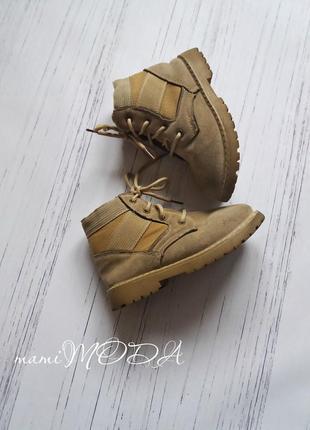 Стильные ботинки весна-осень на шнуровке 29 размер