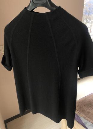 Чёрное платье h&m шерстяное шерсть