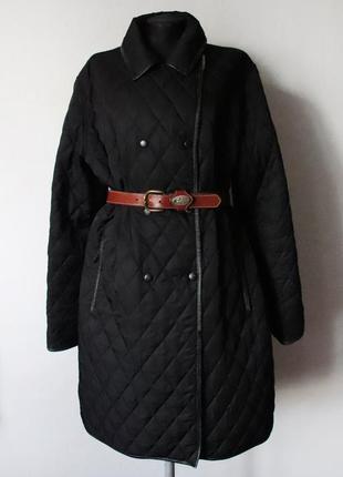 Стеганое пальто burberry оригинал