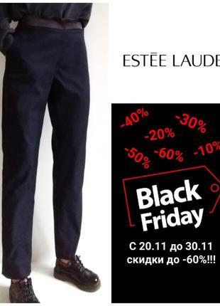 Брендовые зауженные брюки/брюки дудочки с лампасами/для беременных estee lauder, usa m/l