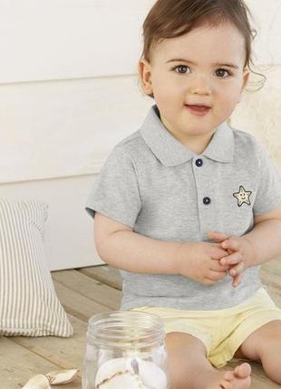 Lupilu футболка поло для мальчика германия