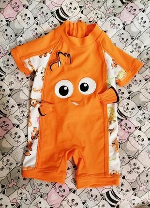 Купальник/солнцезащитный костюм nemo disney