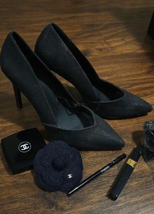 Туфли atmosphere. туфли на высоком каблуке. новые туфли atmosphere. черные туфли