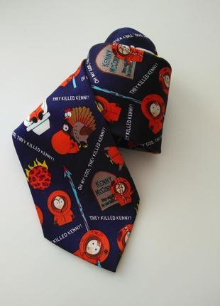 Фирменный галстук south park краватка південний парк оригинальный подарок мужчине
