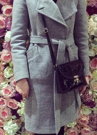 Зимове суконне пальто