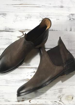 Крутые коричневые челси/ботильоны немецкого бренда melvin&hamilton❤️