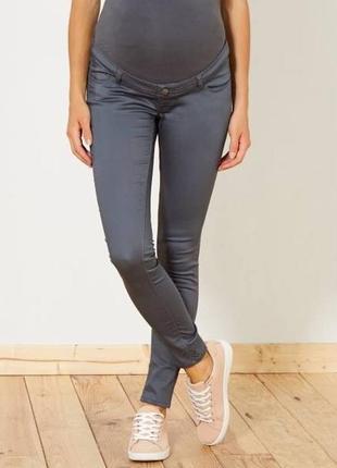 Классные джинсы узкие брюки для беременной kiabi франция