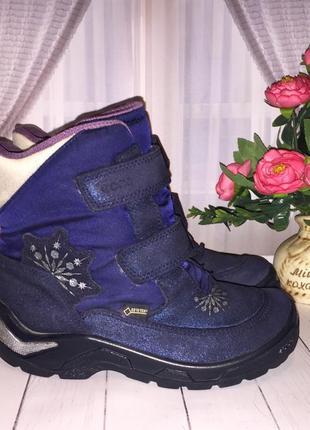 Зимние термо ботинки ecco gore-tex 30р