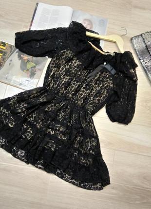 Супер модное платье гипюр