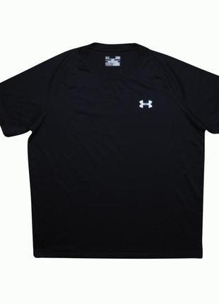 Мужская футболка черная under armour l оригинал