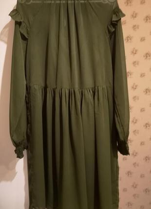 Мега крутое шифоновое платье vila