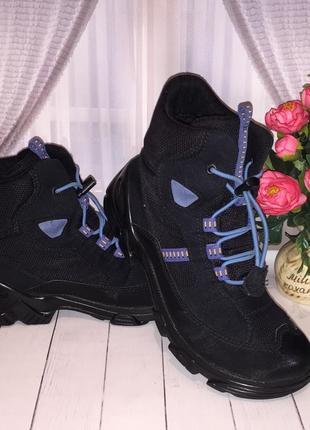 Зимние термо ботинки ecco gore-tex 35р