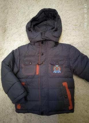 Новая куртка на мальчика зима