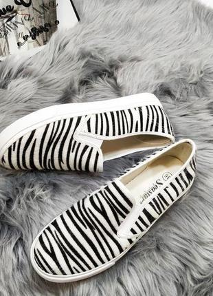 Мягенькие слипоны зебра