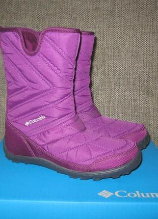 Нові чобітки columbia kids' youth minx slip iii snow boot р. 32 і 35