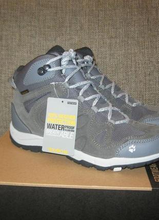 Нові черевики jack wolfskin rocksand texapore р. 39 та 39,5