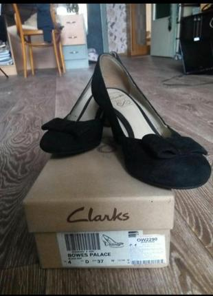 Туфли clarks ,36 размер