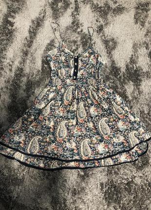 Платье сарафан цветочной принт atmosphere