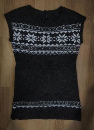 Теплое платье туника можно для беременных