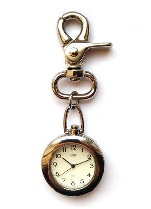 Timex крупные часы из сша на рюкзак с мощным карабином реставрация