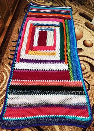 Вязаный плет,накидка