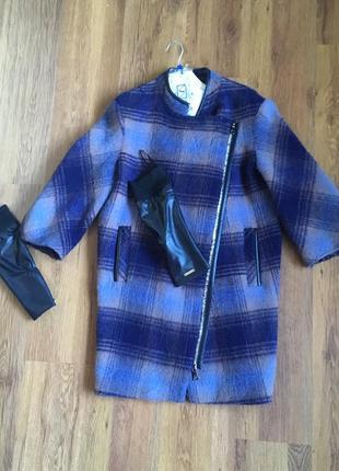 Шерстяное пальто samang