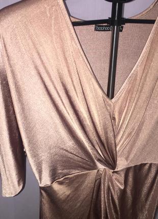 Невероятное платье boohoo! новогоднее платье, платье на торжество, праздничное платье