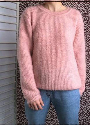 Пухнастый свитер от vero moda