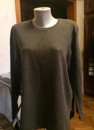 Стильный свитер,джемпер,шерсть от бренда gerry weber