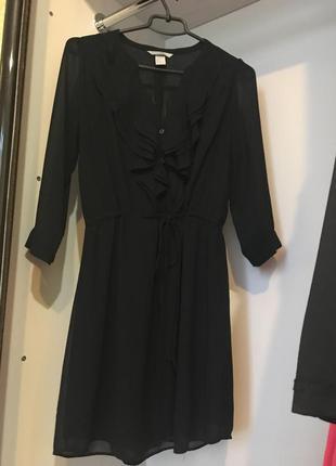 Платице, сукня з шифону, h&m