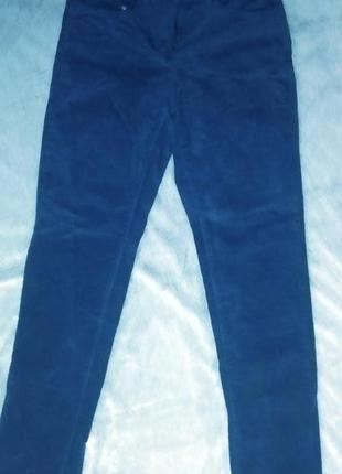 Трендовые бархатные брюки