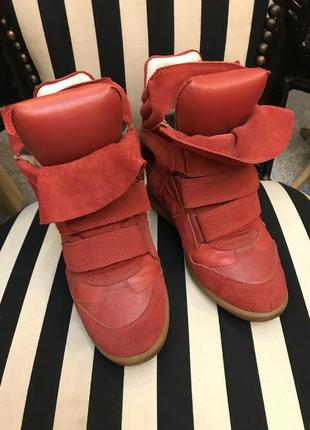 Сникерсы, ботинки isabel marant