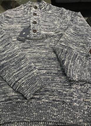 Невероятно тёплый мужской свитер от pierre cardin, вполовину дешевле