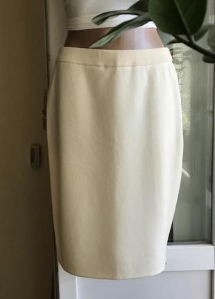 Vip ♥️😎 кашемировая шерстяная юбка карандаш escada.