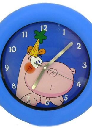 Настенные часы бегемотик