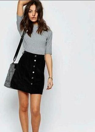 Вільветова юбка