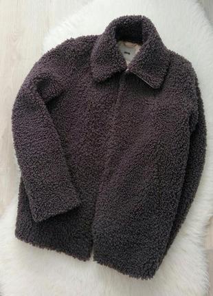 Уютная куртка\шуба барашек от asos