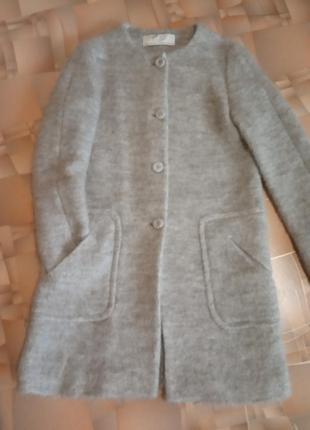 Нежнейшее пальто zara.