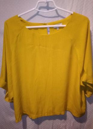 Блузка топ реглан женская укороченная