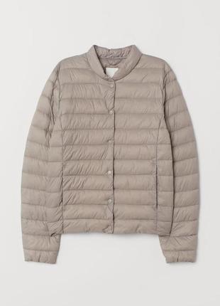 Новая с биркой легкая куртка,женский микро пуховик,демисезонная куртка,ветровка h&m