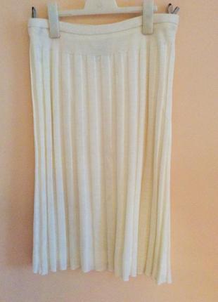 Эффектная тёплая юбка в складки .paris