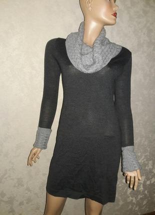 Платье шерстяное размер с-м