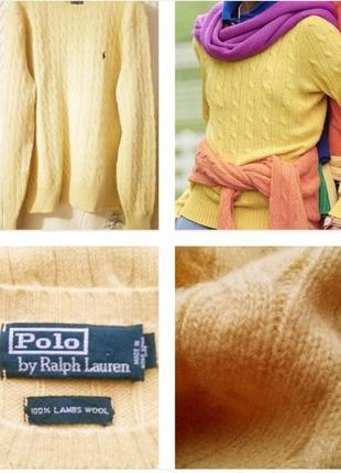 Солнечный, оригинальный свитер из шерсти !