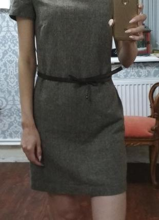 Платье с коротким рукавом осенне-зимнее ostin