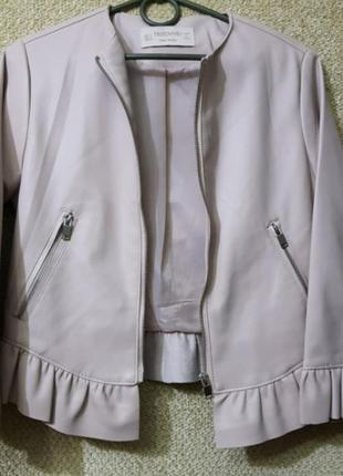 Курточка экокожа