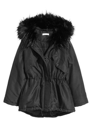 Зимняя парка,куртка от h&m.